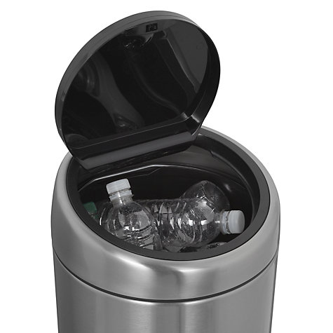 Buy Brabantia Touch Bin, Matt Steel, Fingerprint Proof, 30L Online at johnlewis.com
