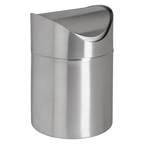 Buy John Lewis Stainless Steel Tabletop Bin, 1L Online at johnlewis.com