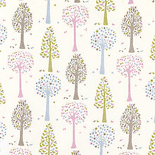 Buy little home at John Lewis Magic Trees Furnishing Fabric Online at johnlewis.com