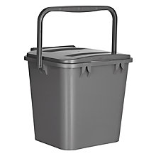 Buy Landsaver Recycling Caddy, Silver Online at johnlewis.com