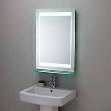 Buy Roper Rhodes Gamma Backlit Bathroom Mirror Online at johnlewis.com