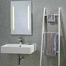 Buy Apollo Backlit Bathroom Mirror Online at johnlewis.com