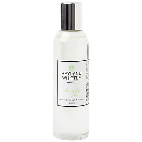Buy Heyland & Whittle Olive & Fig Diffuser Refill, 200ml Online at johnlewis.com