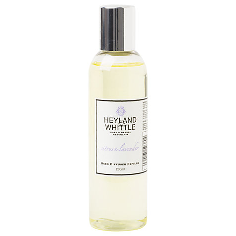 Buy Heyland & Whittle Citrus & Lavender Diffuser Refill, 200ml Online at johnlewis.com