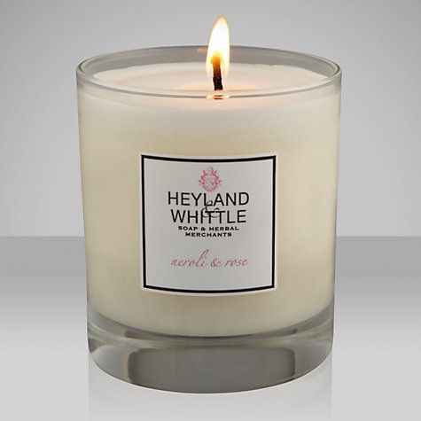 Buy Heyland & Whittle Neroli and Rose Candle Online at johnlewis.com