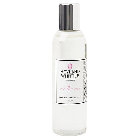 Buy Heyland & Whittle Neroli & Rose Diffuser Refill, 200ml Online at johnlewis.com