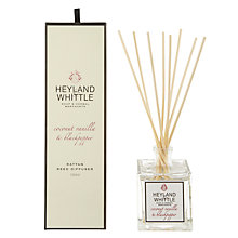 Buy Heyland & Whittle Coconut, Vanilla and Peppercorn Diffuser Online at johnlewis.com