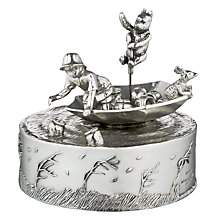 Buy Winnie the Pooh Blustery Day Musical Pewter Carousel Online at johnlewis.com