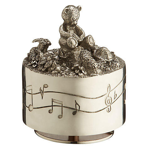 Buy Royal Selangor Pewter Teddy Musical Box Online at johnlewis.com