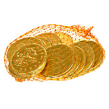 Buy Chocolate Coins, 75g Online at johnlewis.com