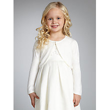 Buy John Lewis Girl Sequin Edge Cardigan Online at johnlewis.com