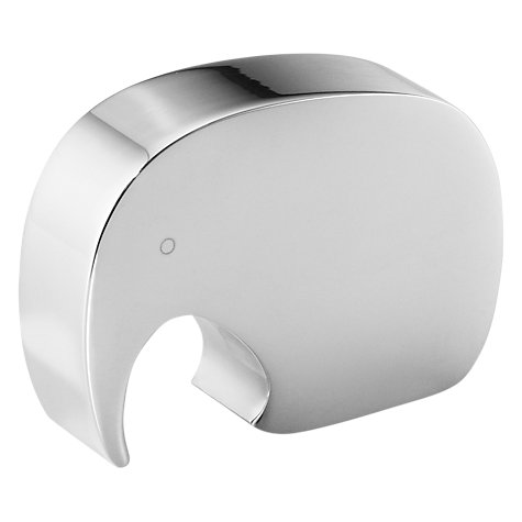 Buy Georg Jensen Elephant Bottle Opener Online at johnlewis.com