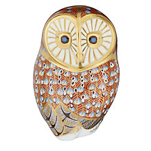 Buy Royal Crown Derby Barn Owl Paperweight Online at johnlewis.com