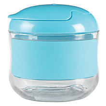 Buy OXO Tot Flip Top Snack Pot, Blue Online at johnlewis.com