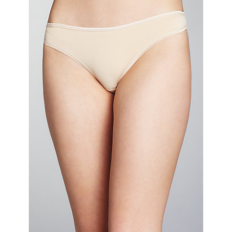 Buy John Lewis 3 Pack Microfibre Thong Online at johnlewis.com