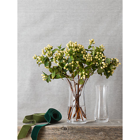 Buy Dartington Crystal Florabundance Daffodil Flared Vase Online at johnlewis.com
