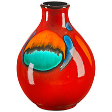 Buy Poole Volcano Purse Bud Vase, 12.5cm Online at johnlewis.com