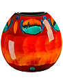 Poole Pottery Volcano Purse Vase, 20cm