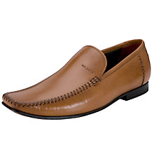 Buy Ted Baker Bly 5 Leather Moccasin Shoes Online at johnlewis.com