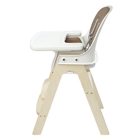 Buy OXO Tot Sprout Highchair, Taupe/Birch Online at johnlewis.com