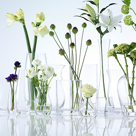 Buy LSA International Flower Single Stem Vase, H17cm Online at johnlewis.com
