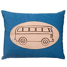 Buy little home at John Lewis Here, There and Everywhere Camper Van Cushion Online at johnlewis.com