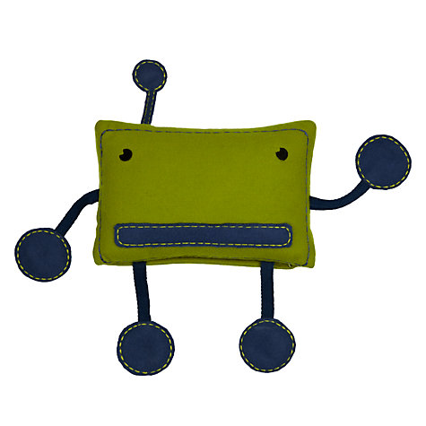Buy little home at John Lewis Little Robot Cushion Online at johnlewis.com