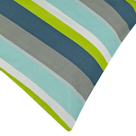 Buy little home at John Lewis Robot and Rivets Stripe Duvet Cover Set Online at johnlewis.com