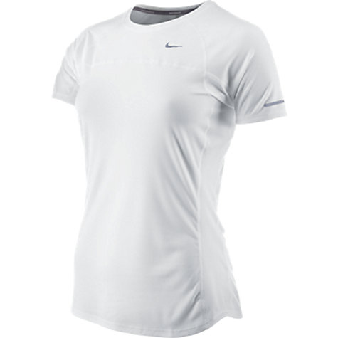 Buy Nike AA Miler Short Sleeve Top Online at johnlewis.com