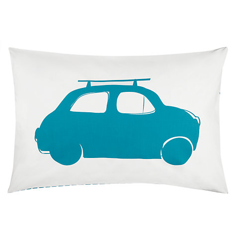 Buy little home at John Lewis Here, There and Everywhere Cars Duvet Cover and Pillowcase Set Online at johnlewis.com