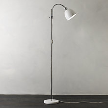 Buy John Lewis Bogart Floor Lamp, White Online at johnlewis.com
