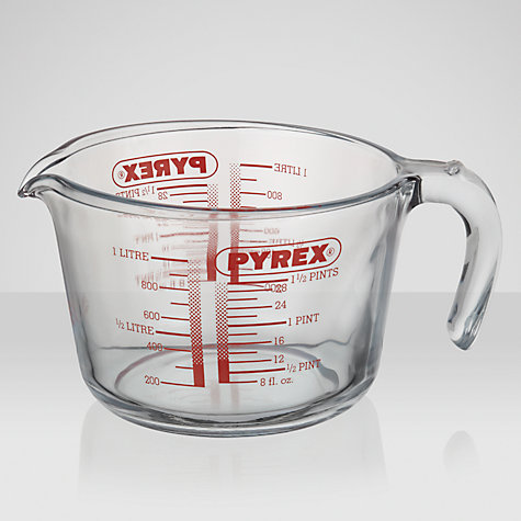 Buy Pyrex Measuring Jug, 1L Online at johnlewis.com