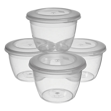 Buy John Lewis Pudding Bowls, Set of 4, 150ml Online at johnlewis.com