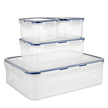 Buy Lock & Lock 4 Piece Storage Container Set Online at johnlewis.com