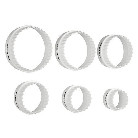 buy john lewis double sided cookie pastry cutters set of 6 john lewis. Black Bedroom Furniture Sets. Home Design Ideas