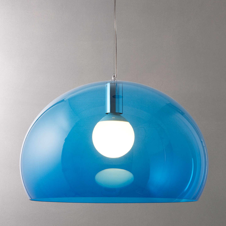 kartell fly ceiling light petrol blue at john lewis. Black Bedroom Furniture Sets. Home Design Ideas