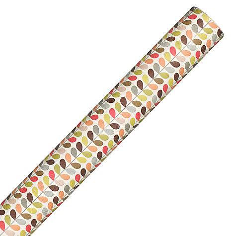 Buy Orla Kiely Multi Stem Wrapping Paper, L3m Online at johnlewis.com