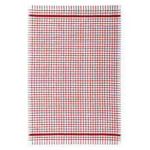 Buy Terry Check Tea Towel, White/Natural Online at johnlewis.com