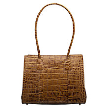 Buy O.S.P OSPREY The Berlin Croc A4 Work Tote Handbag Online at johnlewis.com