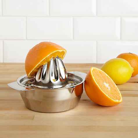 Buy Stainless Steel Citrus Squeezer Online at johnlewis.com