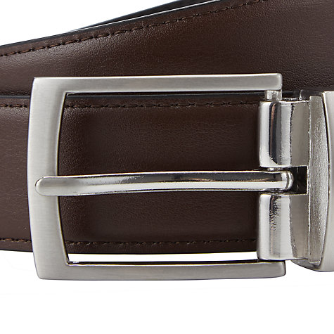 Buy John Lewis Reversible Belt, Black/Brown Online at johnlewis.com