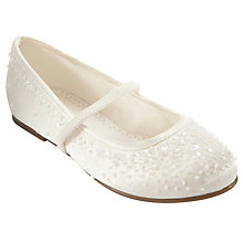 Buy John Lewis Girl Fairy Mary-Jane Bridesmaid Shoes, Ivory Online at johnlewis.com