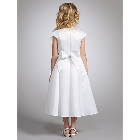 Buy John Lewis Girl Cap Sleeve Communion Dress Online at johnlewis.com