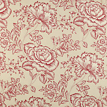 Buy John Lewis Botanical Rose Fabric Online at johnlewis.com
