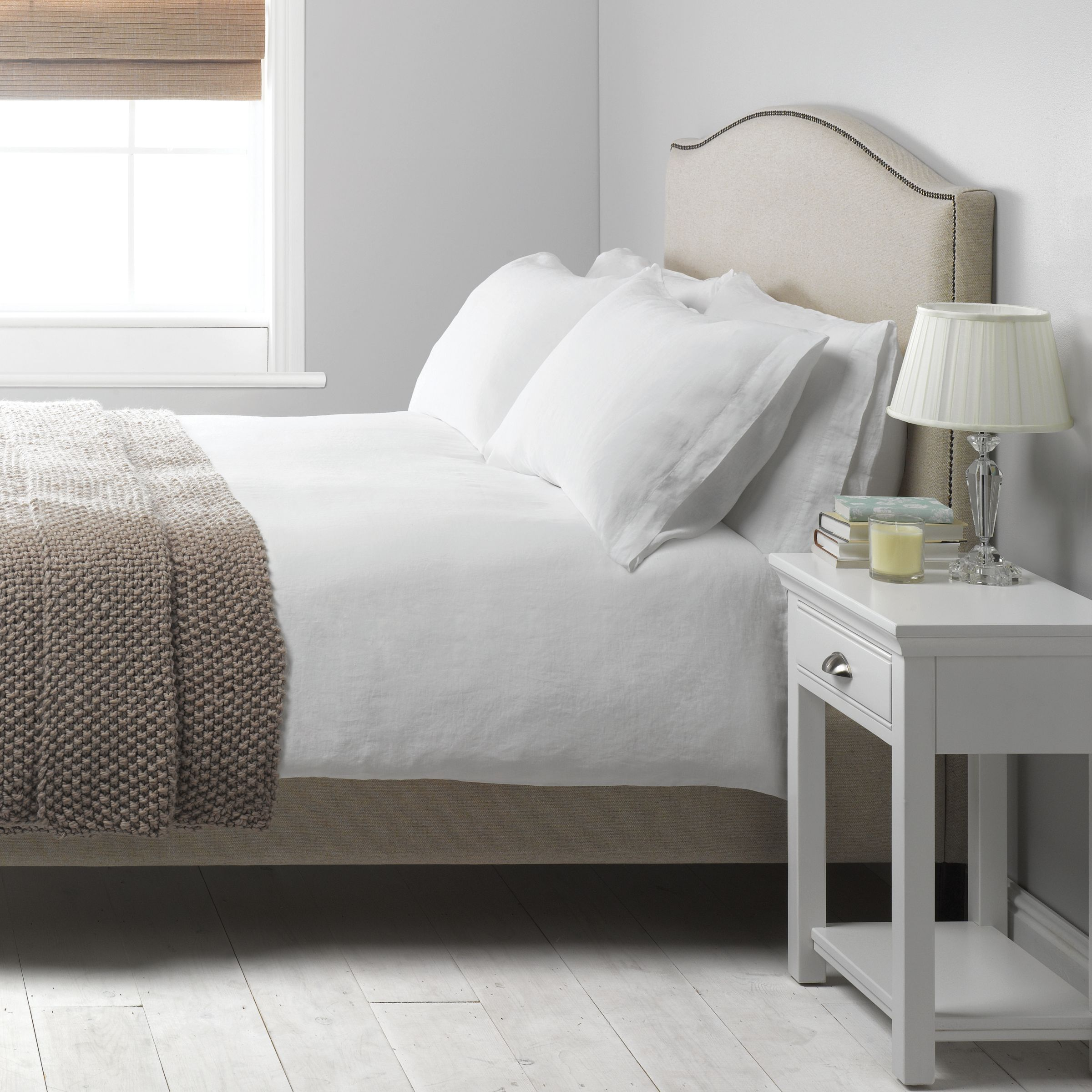 Linen Duvet Covers Bedding And Made From Natural John Lewis