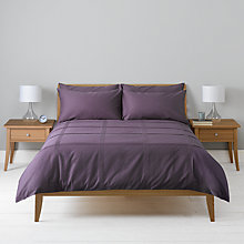 Buy John Lewis Tucks Duvet Cover Online at johnlewis.com