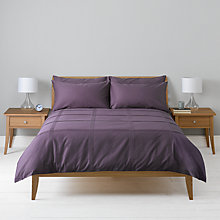 Buy John Lewis Tucks Pillowcases Online at johnlewis.com