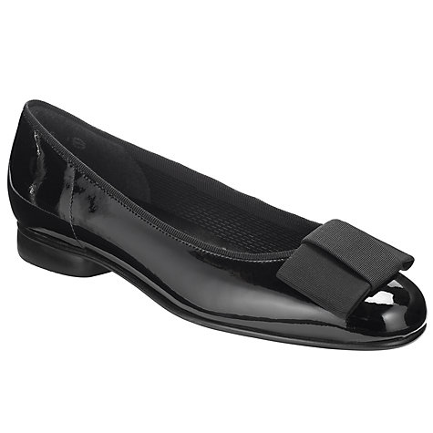 Buy Gabor Assist Bow Detail Patent Pumps Online at johnlewis.com