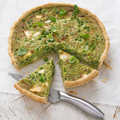 Buy Pea, Goat's Cheese & Herb Tart by Meyer Online at johnlewis.com