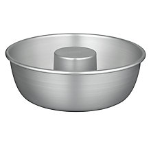 Buy John Lewis Satin Anodised Savarin Baking Mould Online at johnlewis.com